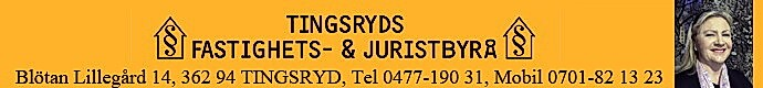 Tingsryds Fastighets- & Juristbyrå AB