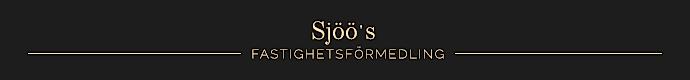 Sjöö's Fastighetsförmedling