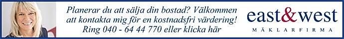 East & West Mäklarfirma AB