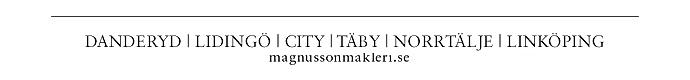 Magnusson Mäkleri City AB