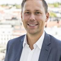 Mäklare Marcus Axbo, Länsförsäkringar Fastighetsförmedling Växjö