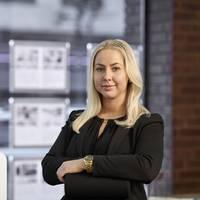 Mäklare Amanda Arvidsson, Fastighetsbyrån Karlstad