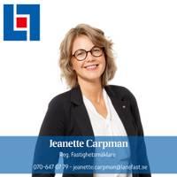 Mäklare Jeanette Carpman, Länsförsäkringar Fastighetsförmedling Katrineholm