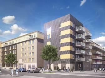 Bild på Brf Borggården etapp 2