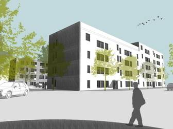 Bild på Åby Ängar, Lägenheter