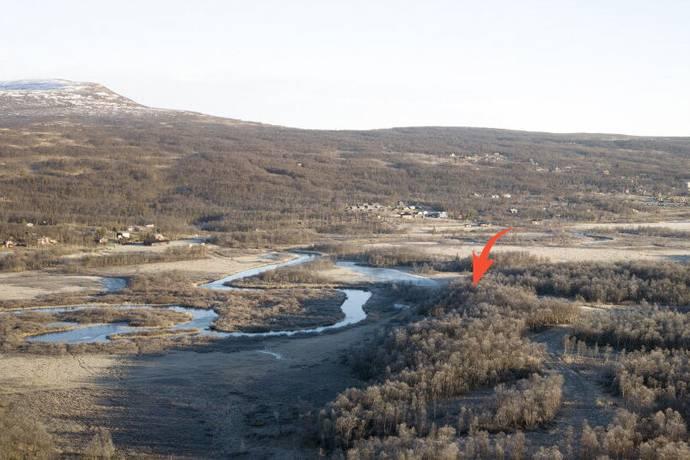 Bild: tomt på Sätervallen tomt 26:96, Härjedalens kommun Tänndalen