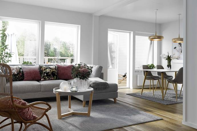 Bild: 5 rum radhus på Stensötavägen, Norrköpings kommun Svärtinge