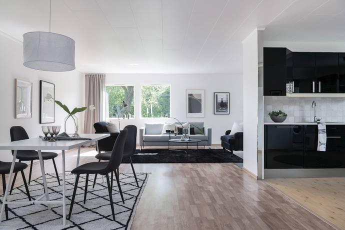 Bild: 4 rum villa på Lokgatan  4, Bjuvs kommun Billesholm