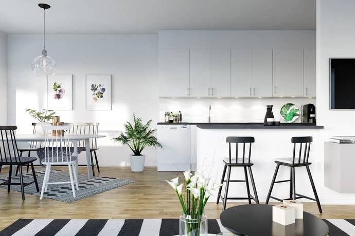 Bild: 2 rum bostadsrätt på Infanterigatan, Östersunds kommun