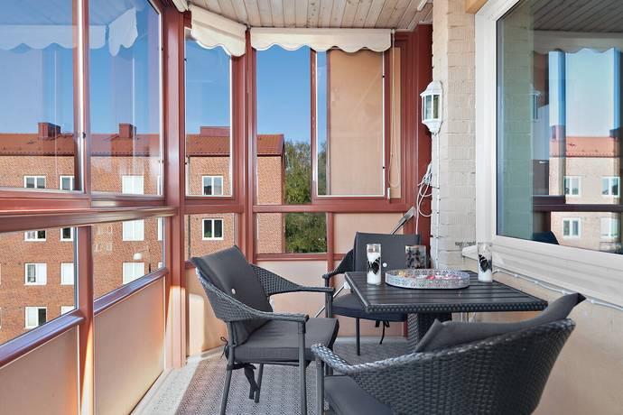 Bild: 3 rum bostadsrätt på Baskemöllegatan 14a, Malmö kommun Nobeltorget / Annelund