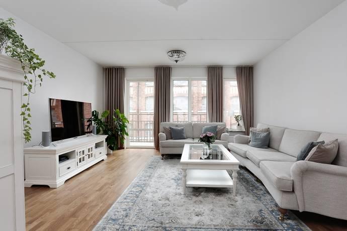 Bild: 3 rum bostadsrätt på Rostagatan 8, Örebro kommun Centralt Väster