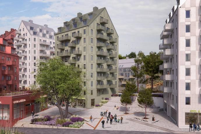 Bild: 3 rum bostadsrätt på Tingstorget 1, 1 tr., Botkyrka kommun Alby - Norsborg