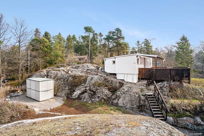 Bild: 30 m² fritidshus på Östnoravägen 37, Haninge kommun Västerhaninge-Östnora