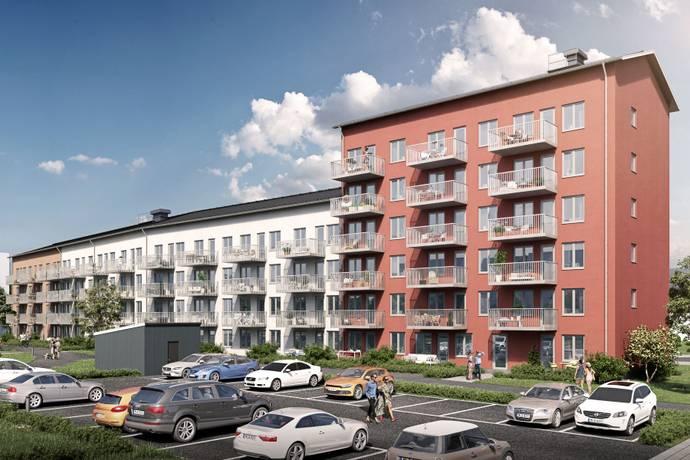 Bild från Kumla - 18 nyproducerade centrala bostadsrätter med balkong i västerläge!