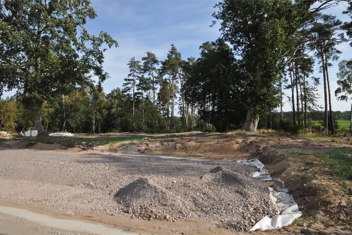 Bild: tomt på Sven Liljas Gata 15, Mörbylånga kommun Strandskogen/Öland