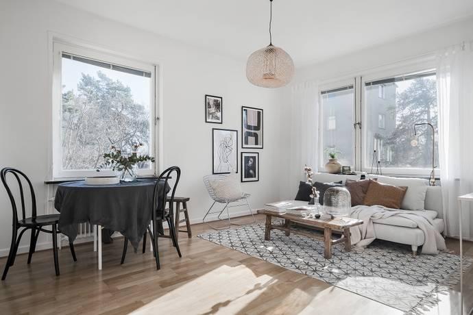 Bild: 2 rum bostadsrätt på Nathorstvägen 35, Stockholms kommun Skärmarbrink