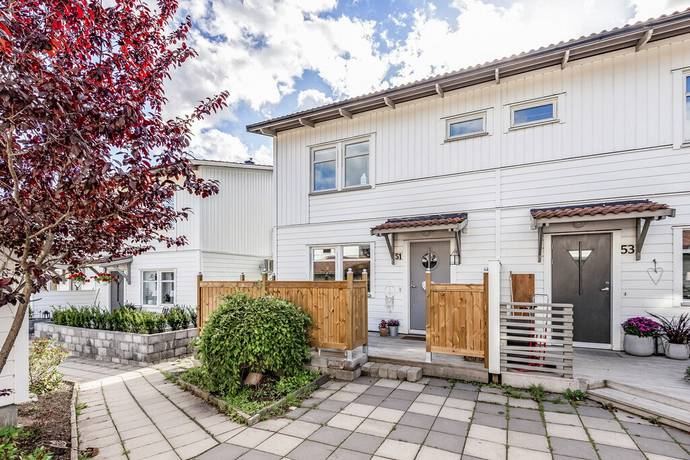 Bild: 4 rum radhus på Hökmossvägen 51, Nykvarns kommun Centralt