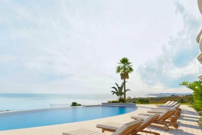 Bild: 3 rum bostadsrätt på Havsutsikt bara 500 m till strand, Spanien Benalmadena, Costa del Sol