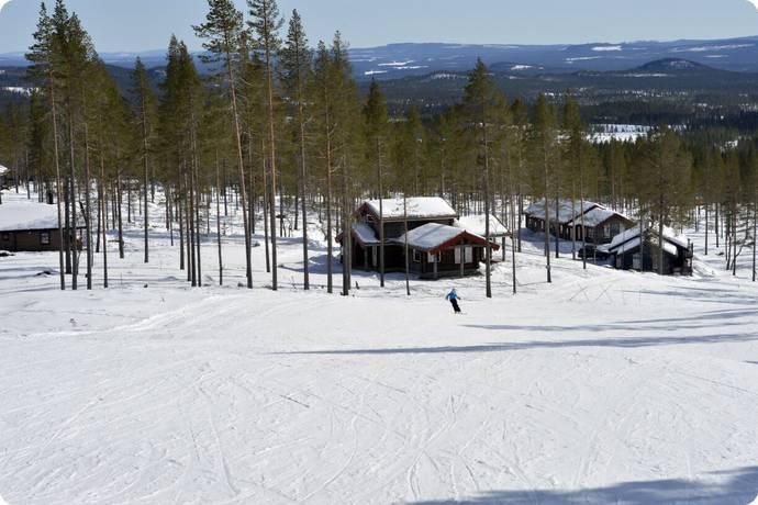 Bild: tomt på Topphedenbacken 83:37, Älvdalens kommun Idre Himmelfjäll