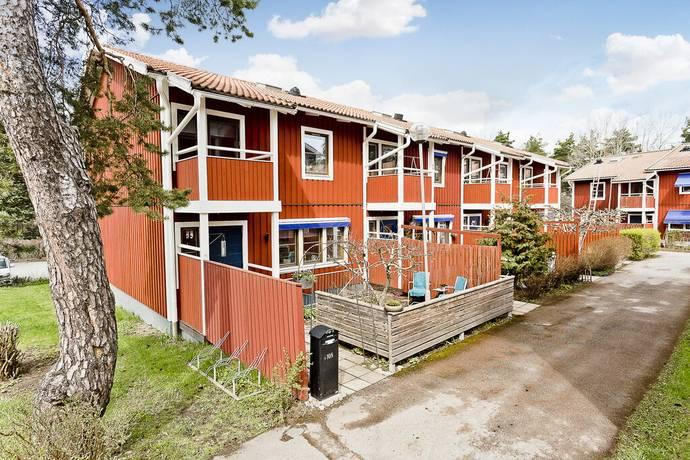 Bild: 6 rum radhus på Flogstavägen 108, Uppsala kommun Flogsta-Ekeby