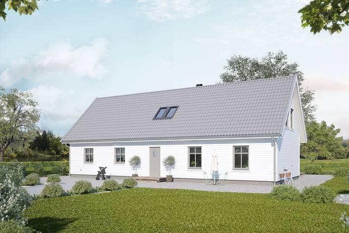 Bild: 3 rum villa på Görshögsvägen 9 (Tomt 58), Staffanstorps kommun Nordanå