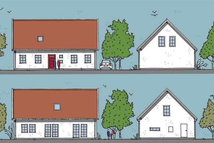 Bild: 3 rum villa på Villa 3, Landskrona kommun Kvärlöv