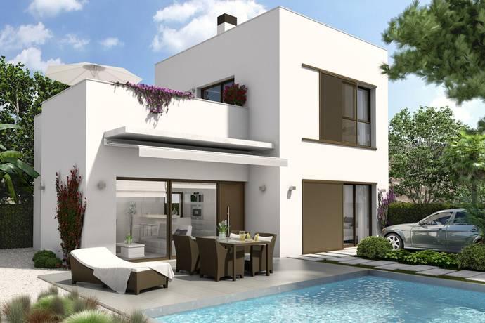 Bild: 4 rum villa på ME_V_3B_La Marina, Oasis, Spanien Alicante