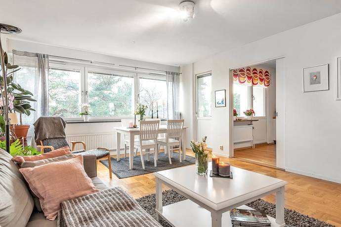 Bild: 3 rum bostadsrätt på Vesslevägen 26, 2 tr, Lidingö kommun Näset