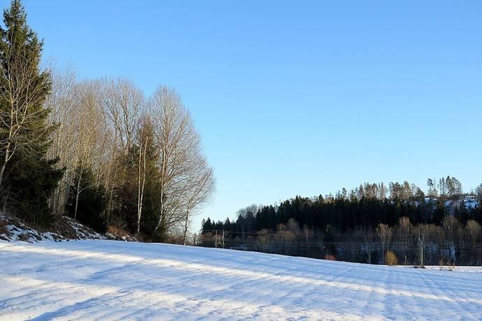 Bild: gård/skog på Kvedesta, Södertälje kommun 40 km sydväst om Stockholm