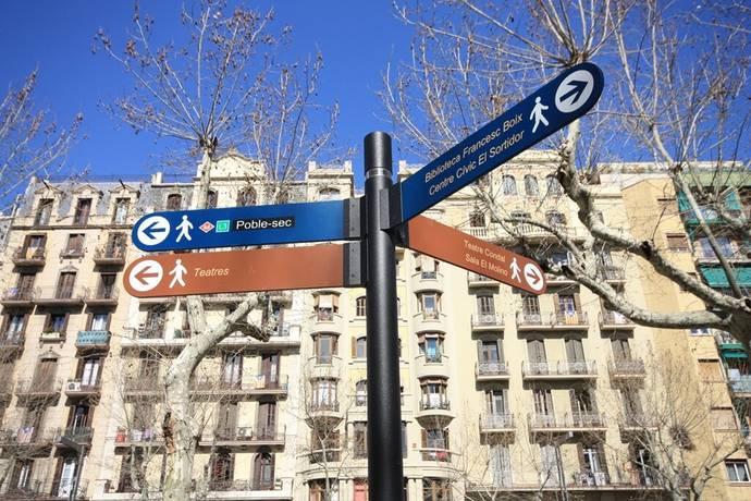 Bild: 3 rum bostadsrätt på NYRENOVERAT  Poble Sec  Ref 2830, Spanien Poble Sec