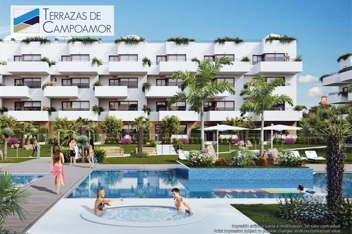 Bild: 3 rum bostadsrätt på Nyproduktion med takterrass, Spanien Costa Blanca - Lomas de Cabo Roig