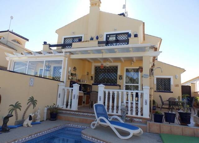 Bild: 4 rum radhus på Privat Pool / Nära havet, Spanien Stort Radhus