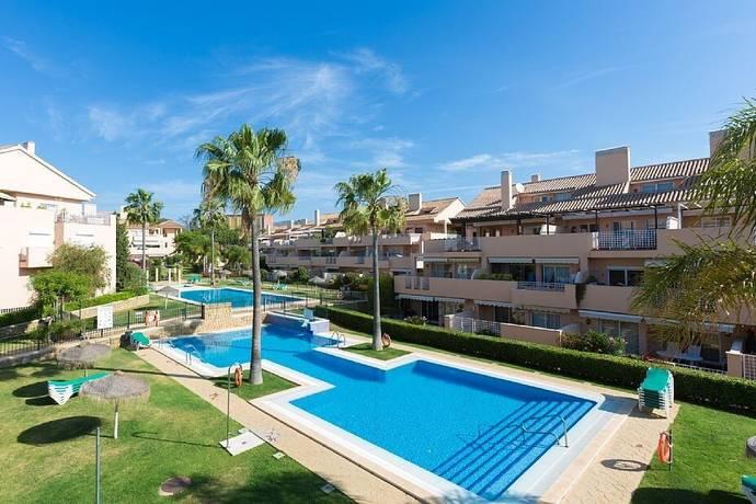 Bild: 3 rum bostadsrätt på Fantastisk trädgårdlägenhet med närhet till stranden, Spanien Marbella - Elviria