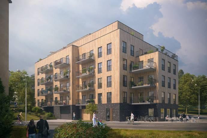 Bild: 1 rum bostadsrätt på Bäckvägen, Stockholms kommun Midsommarkransen