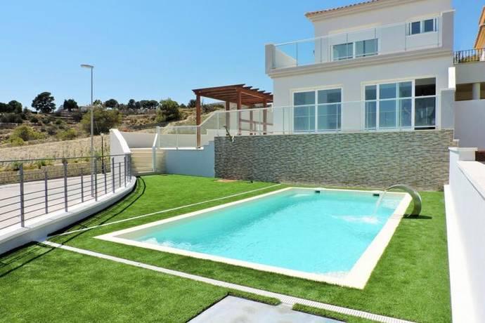 Bild: 4 rum villa på Exklusiva villor med utsikt över bergen och h, Spanien Busot - Costa Blanca