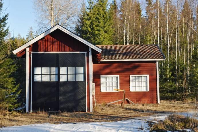 Bild: tomt på Rensmur Storljusvägen 4, Sala kommun Rensmur/Storljusen