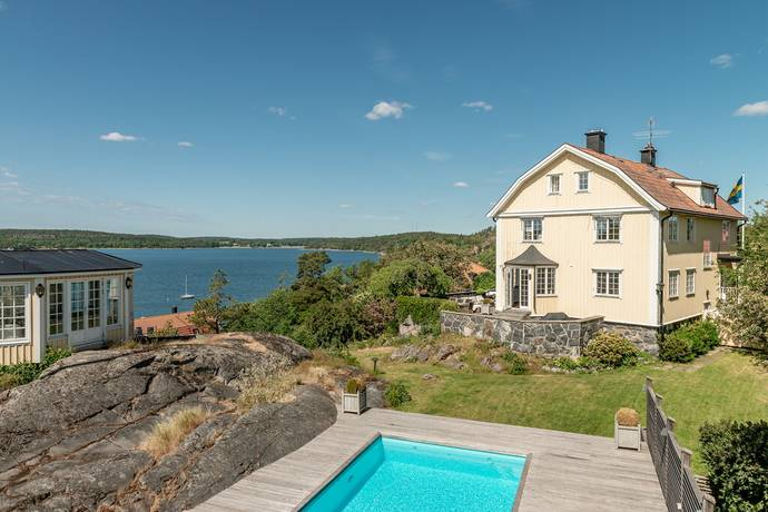 Bild: 10 rum villa på Vildvinsvägen 7, Solsidan, Nacka kommun Saltsjöbaden-Solsidan