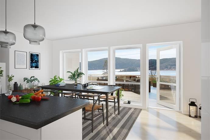 Bild: villa på Furuhall Tomt 4 Etapp 5, Uddevalla kommun Herrestad