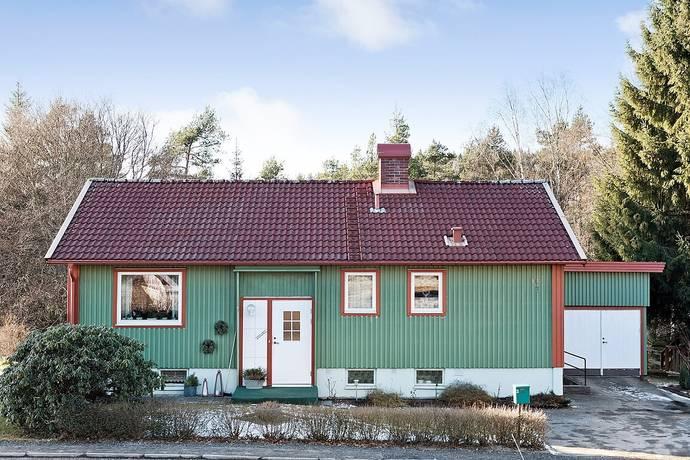 Bild: 3 rum villa på Bogrydsvägen 84, Borås kommun Svaneholm