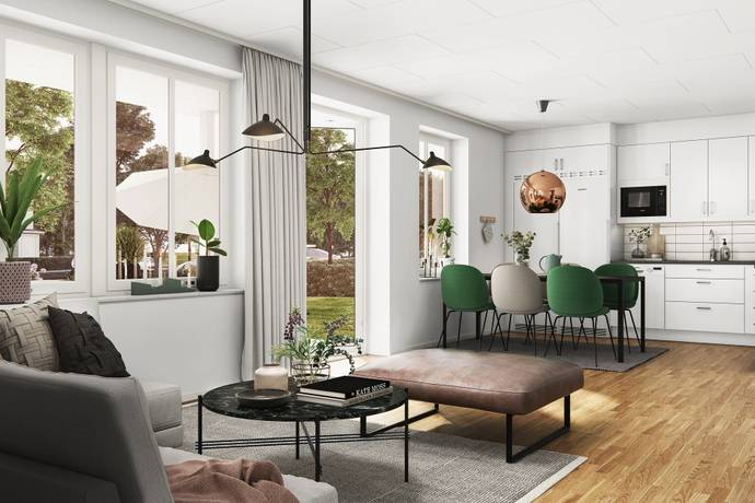 Bild: 4 rum bostadsrätt på Blåeldsbågen 43 C 1102, Linköpings kommun Sturefors