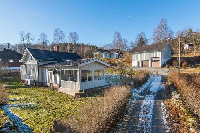 Bild: 4 rum villa på Skogsgatan 10, Marks kommun Skene