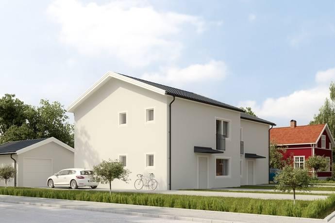 Bild: 5 rum radhus på Dackegatan 19, Mjölby kommun Centralt