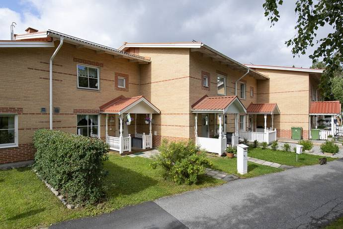 Bild: 4 rum radhus på Orionvägen 14, Krokoms kommun Byskogen