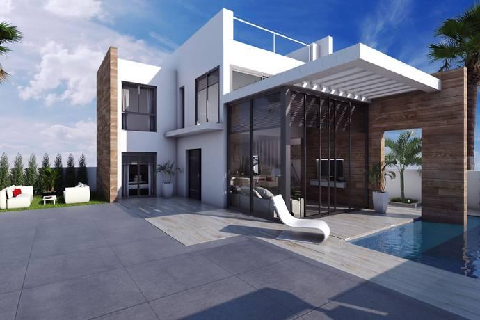 Bild: 4 rum villa på Palm Beach II, Spanien Lomas de Cabo Roig