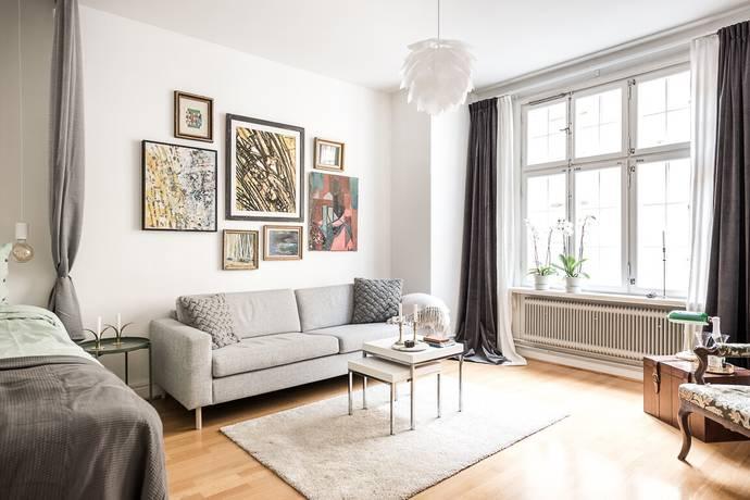 Bild: 1 rum bostadsrätt på Karlsviksgatan 10, 1 tr, Stockholms kommun Kungsholmen Norr Mälarstrand