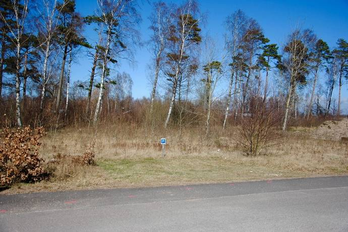 Bild: tomt på Grenvägen 3, Halmstads kommun Haverdal