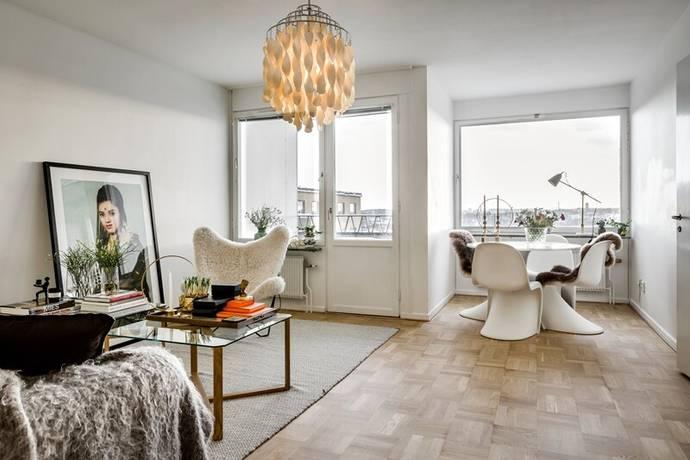 Bild: 3 rum bostadsrätt på Sandhamnsgatan 25, 8tr, Stockholms kommun Gärdet