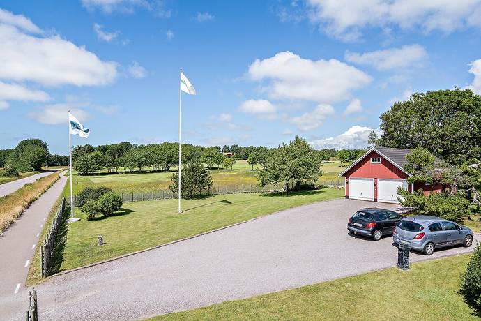Bild: tomt på Kungsvägen 72, Halmstads kommun Ringenäs