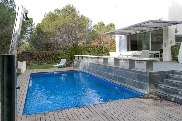 Bild: 6 rum villa på Begues- Ref 2836, Spanien Barcelona Södra kust