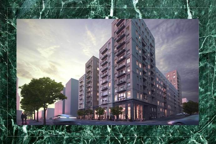 Bild: 2 rum bostadsrätt på Nina Einhorns gata 7, 8tr, Stockholms kommun